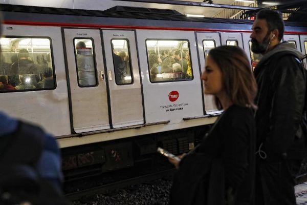 Estación de la red de Metrode Barcelona.