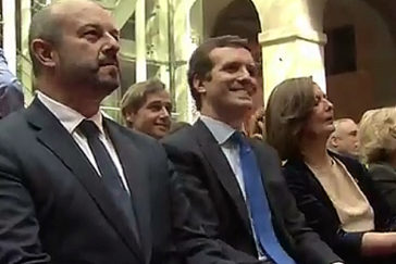 Aguirre, Casado y Garrido coinciden en los actos del 2 de mayo en Sol