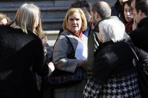 La ex presidenta del Parlament Núria de Gispert.