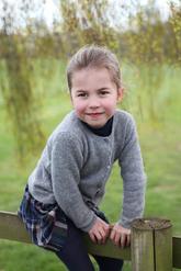 Charlotte ha cumplido cuatro años convertida en una princesita muy...