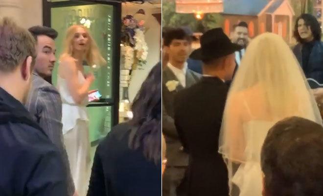 Matrimonio Simbolico Las Vegas : Sophie turner y joe jonas boda sorpresa en las vegas ante elvis