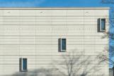 Fachada del nuevo museo Bauhaus en Weimar.