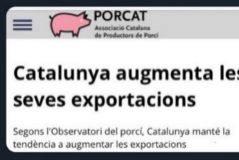 La ex presidenta del Parlament compara a Arrimadas y Millo con los cerdos