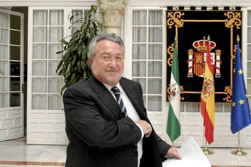 Bernat Soria, en la Delegación del Gobierno en Andalucía durante su etapa como ministro de Zapatero.