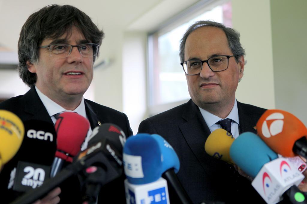 GRAF1945. WATERLOO (BÉLGICA).- El presidente de la Generalitat, Quim...