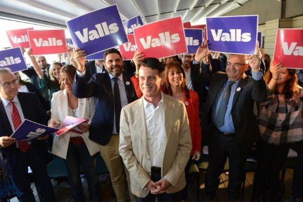 Valls durante la presentación del programa