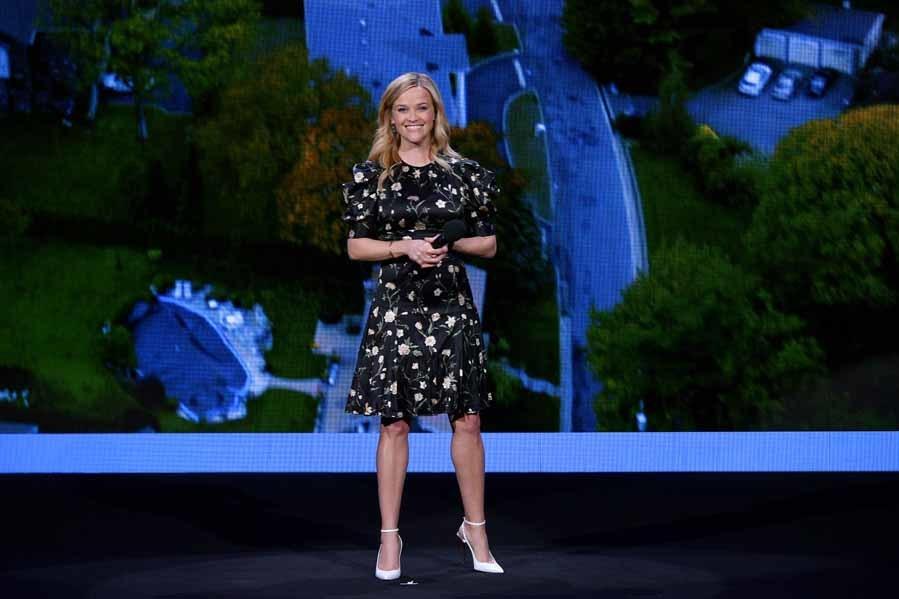 La actriz presentó en el evento de Hulu su nueva serie, que...