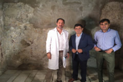Los Baños Árabes, los mejor conservados de España, exhiben sus restauradas pinturas murales