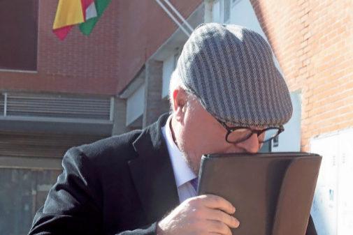El comisario Villarejo, antes de entrar en prisión