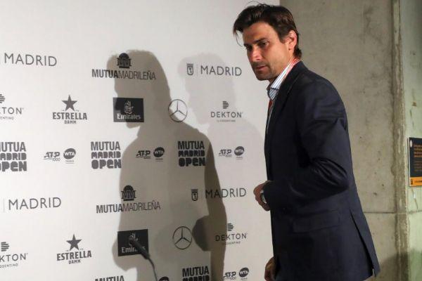 Ferrer, durante su rueda de prensa del jueves en Madrid.