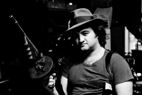 John Belushi (1949-1982), en 'Saturday Night Live', en 1976.