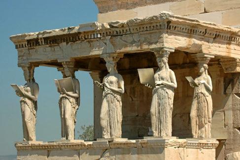 """""""Grecia admiraba el mundo y se admiraba ante él"""""""