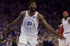 La media hora memorable de Embiid que apagó a los Raptors