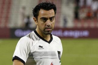 Xavi Hernández disputa un encuentro con Al Sadd