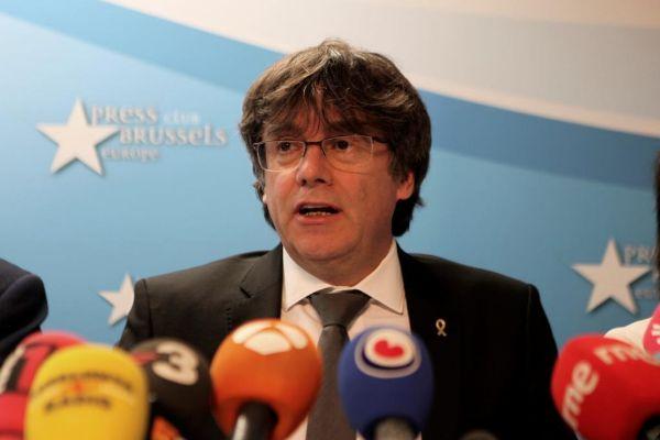 GRAF1894. BRUSELAS (BÉLGICA).- El expresidente de la Generalitat...