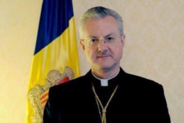 El arzobispo de Urgell y copríncipe de Andorra, Joan Enric Vives.