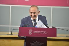 Ramiro González, diputado general de Álava.