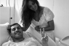 Sara <HIT>Carbonero</HIT> e Iker Casillas. Hospital. Ingresado por infarto en Lisboa