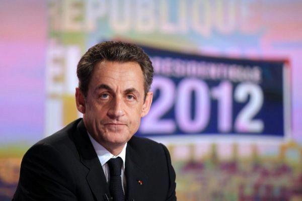 El ex presidente de la República Francesa, Nicolas Sarkozy, en 2012, año en el que creó la 'tasa Tobin' francesa.