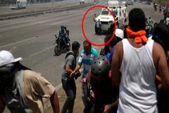 Superviviente: 'Me giré  y vi la tanqueta dirigirse hacia mi'