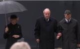 Don Juan Carlos y Doña Sofía, juntos en el funeral del gran duque