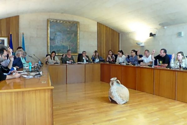 Pleno en el Ayuntamiento de Andratx.