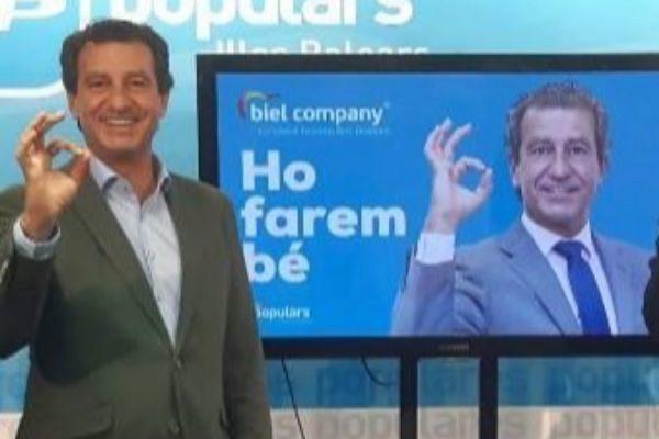 Biel Company en la presentación de la campaña.