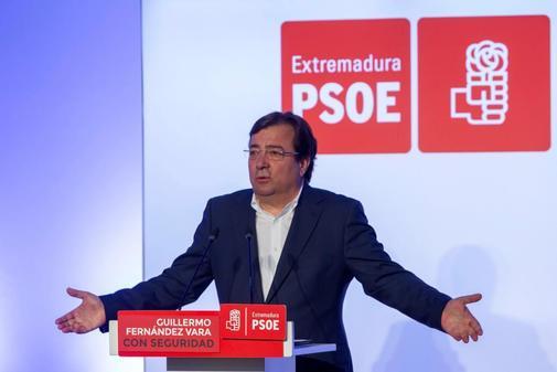 Guillermo Fernández Vara presenta su campaña para el 26-M