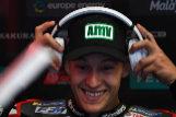 Fabio Quartararo, durante los entrenamientos, este sábado en Jerez.