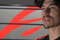 ANDALUCIA . JEREZ. GP DE ESPAÑA DE MOTOS .03-05 2019. Entrevista a Maverick <HIT>Viñales</HIT> para Javier Sánchez