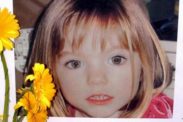 Madeleine McCann, desaparecida el 3 de mayo de 2007.