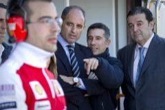 El ex presidente de la Generalitat, Francisco Camps, En la imagen junto a Jorge Martinez Aspar y Gerardo Camps. /