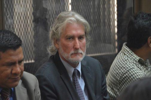 El español Juan José Suárez, en el banquillo de los acusados.