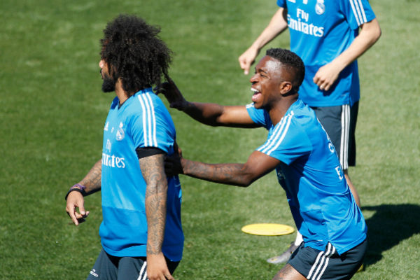 REAL MADRID 18/19 ANGEL RIVERO MARCA|Libre Uso <HIT>VINICIUS,</HIT>...
