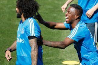 Vinicius y Bale se cruzan antes de la visita del Villarreal