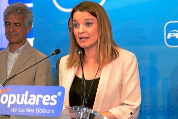 Marga Prohens, tras saber los resultados del 28A.