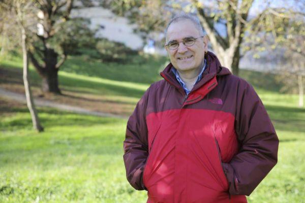 El geólogo Alejandro Cearreta.