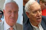 García-Margallo, en una imagen de julio de 2018 (i) y hace unos días.
