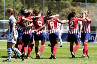El Atlético lidera la revolución del fútbol femenino