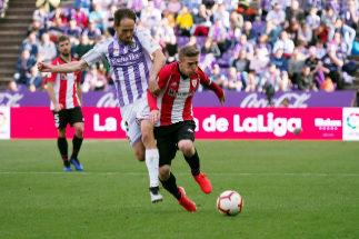 Waldo saca al Valladolid del pozo  y manda a Segunda al Rayo