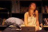 """Maite Jáuregui en """"La Realidad"""", de de Denise Despeyroux, en el Cervantes Theatre."""