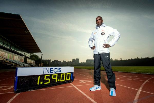 El atleta keniata Eliud Kipchoge