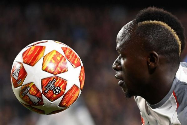 Sadio Mané, delantero del Liverpool, en el Camp Nou.