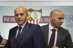 Fuerte bronca  entre Del Nido y Monchi en la Feria de Sevilla