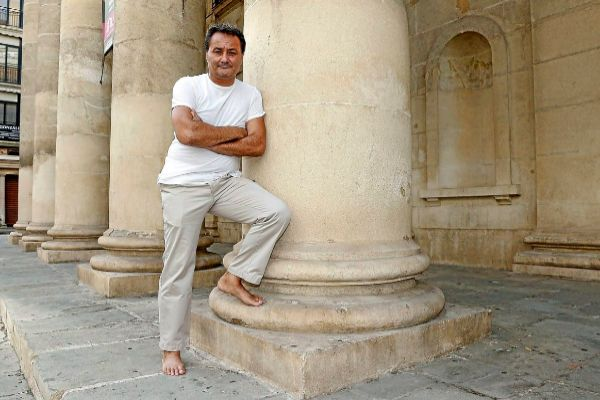 Francisco Sanguino en una entrevista nada más ser nombrado director del Principal.