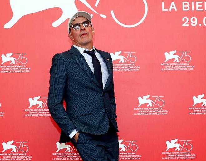 Jacques Audiard en el Festival de Venecia.