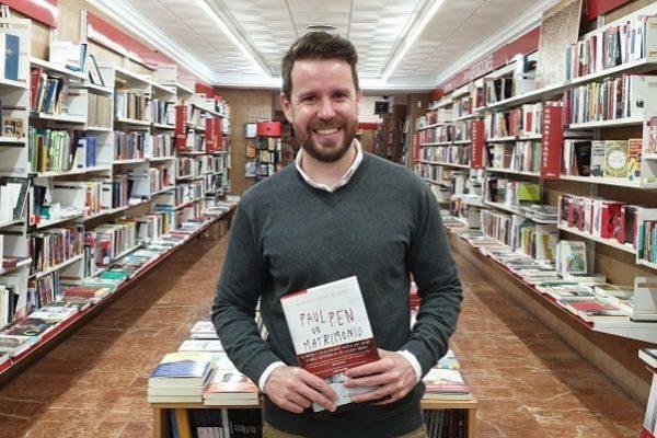 Paul Pen, con 'Un matrimonio perfecto', en la Librería Ochenta Mundos.