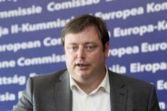 Bart De Wever, líder de la Nueva Alianza Flamenca.