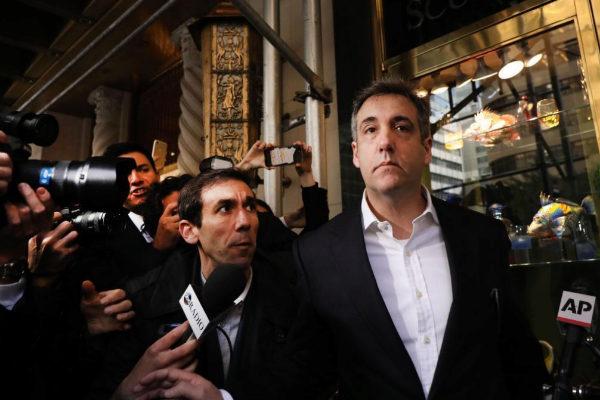 Michael Cohen abandona su apartamento de Manhattan para entrar en prisión.