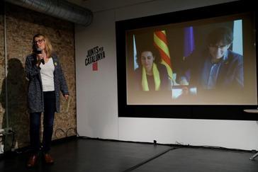 Carles Puigdemont valora por videoconferencia desde Waterloo la decisión del Supremo.